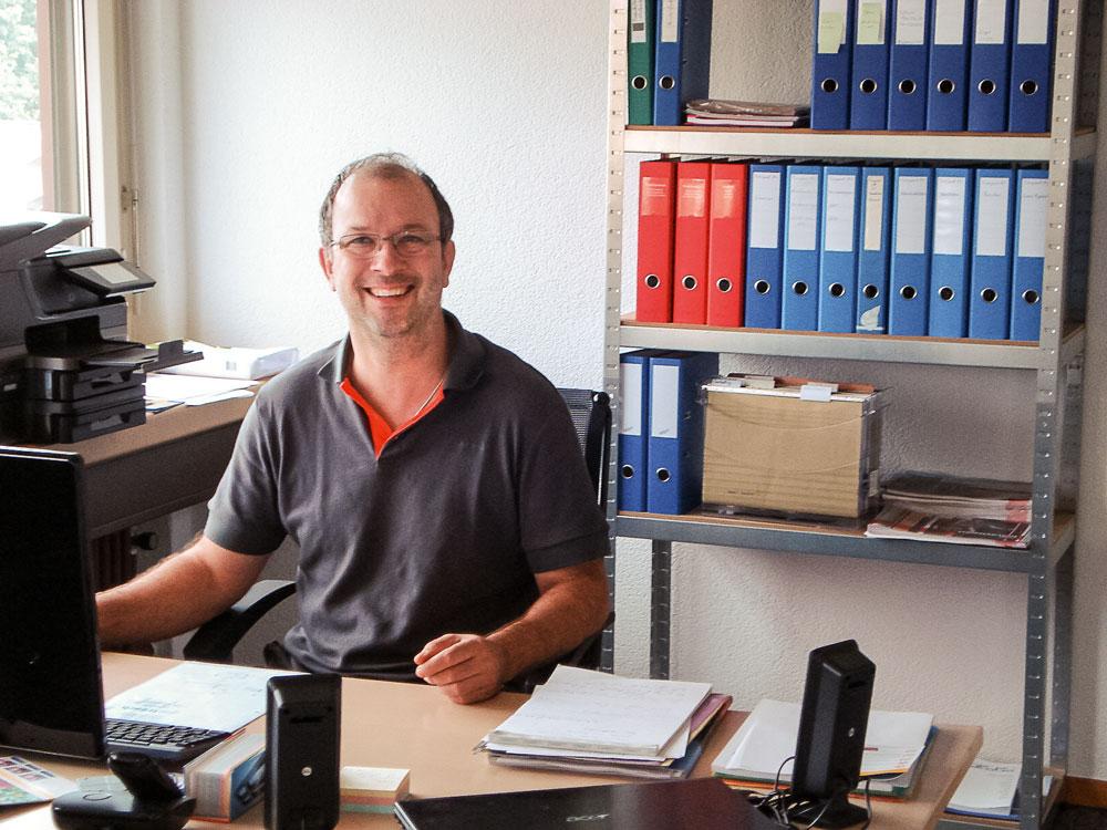Geschäftsführer und Inhaber André Uetz